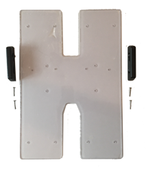 Affixing T-Lock Brackets to H-Base Insert