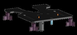 T-Lock Platen Base