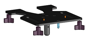 T-Lock Base for Brother DTG Printers